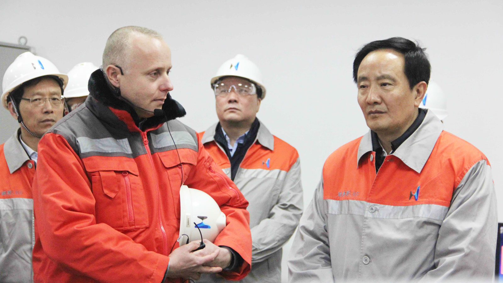 Ningxia government delegation to Hanas LNG plant